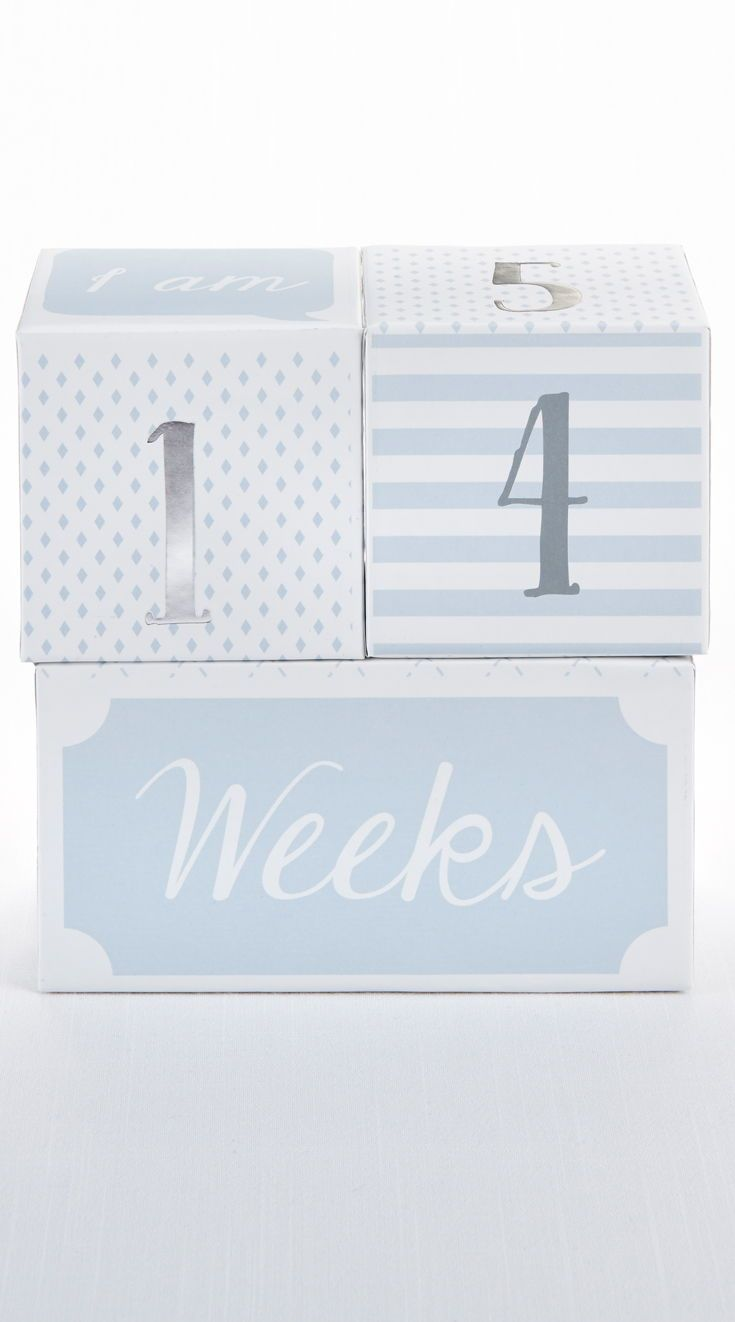 My First Milestone Little Prince Baby Age Blocks Baby Age Blocks Age Blocks Unique Baby Gifts