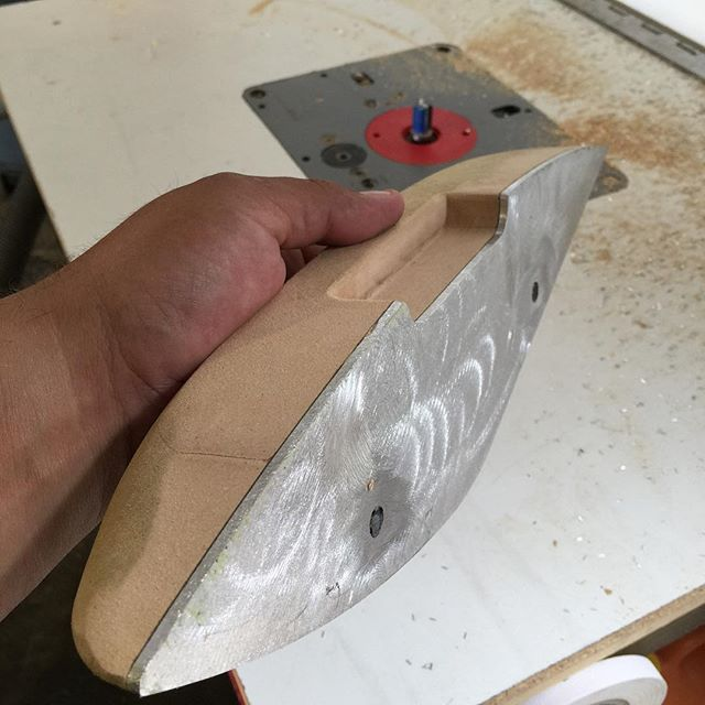 Making Some Custom Door Pull Handles Arm Rest For A Ford Roadster We Decided To Make The Base Out Of Aluminum Better S