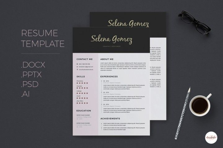 The 96 best CV / RESUME DESIGN by EM images on Pinterest   Resume ...