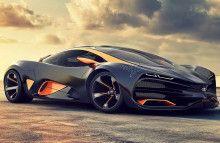 Lada Raven supercar concept Car Huge Image HD For iPod