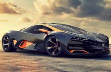 Lada Raven supercar concept Car Huge Image HD For iPod
