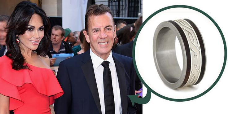 Our Celebrity Wedding Ring Suggestions: Duncan Bannatyne and DNigora Whitehorn - Wedding Band Suggestion