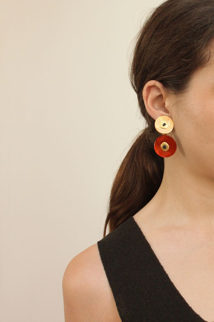 Nacre earrings