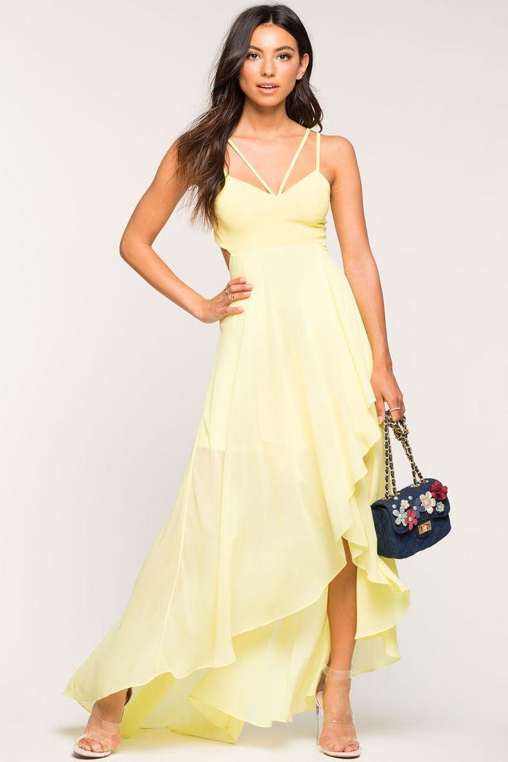 Carlisle Cascade Maxi DressCarlisle Cascade Maxi Dress