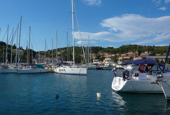 Otok Korcula: Lumbarda Marina at Croatia-International Yacht Club