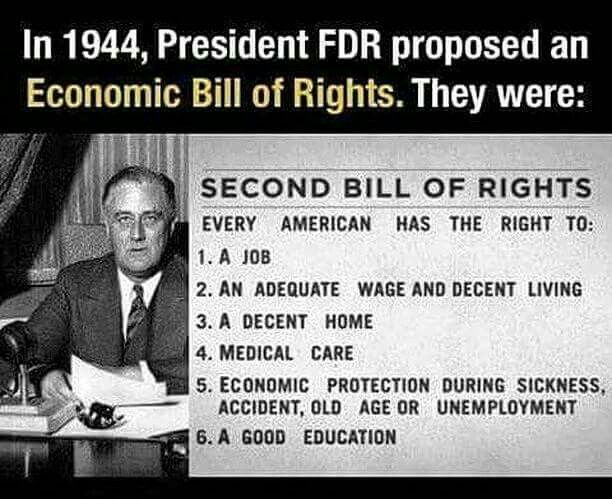 """He was called a socialists because he was dragging America out of the Great Depression. He was called """"a traitor to his class"""". Even today, republicans hate him and won't say his name; he is """"that man"""". I think social security is the only thing left of his and all my life (I'm 79) republicans have tried do destroy it."""