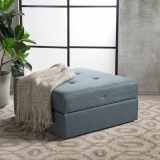 Shop for Burlington Square Fabric Storage Ottoman Bench by Christopher Knight Home. Get free shipping at Overstock.com - Your Online Furniture Outlet Store! Get 5% in rewards with Club O! - 22264790