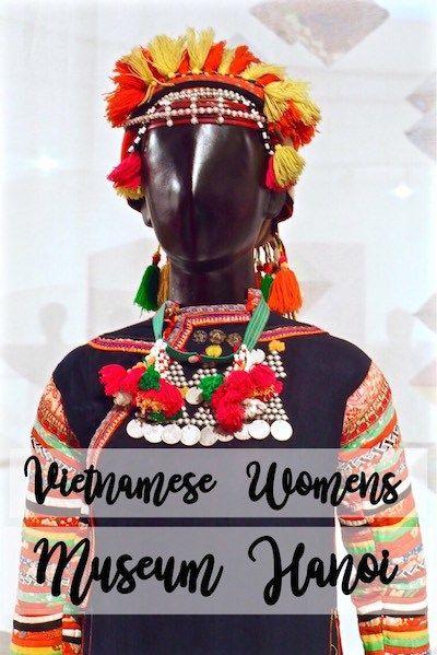 The Vietnamese Womens Museum Hanoi Vietnam