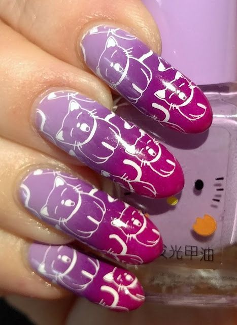 27 best 26 great nail art ideas images on pinterest presents cnt presents 26 great nail art ideas pastel to bold gradient wsomething on top prinsesfo Gallery