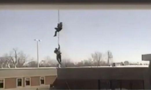 Se fugan de la cárcel en helicóptero