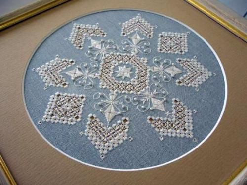 Crystal of Snow : Hardanger Embroidery - Hilo Embroidery