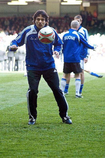 The all time best Finnish football player Jari Litmanen