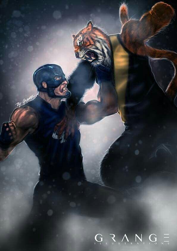 Richmond Football Club - tigers smashing the blues. Go tigers!