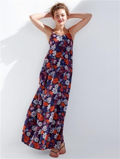 -30% Robe maxi longue imprimé fleuri qui respire l'été ! 41,93€