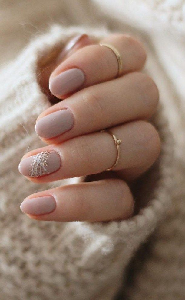 50 Beautiful Short Nail Art Design Ideas For Fall And Winter 3