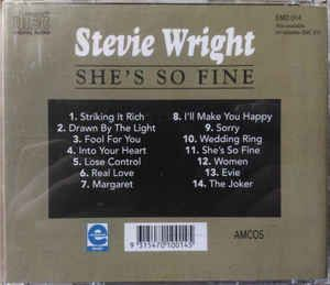 Stevie Wright - She's So Fine (CD, Album) at Discogs