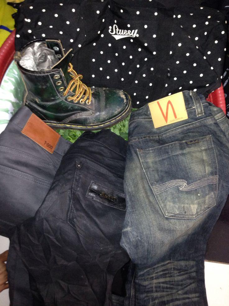 Stussy x dr.martens x uniqlo x april 77 x nudie jeans co.