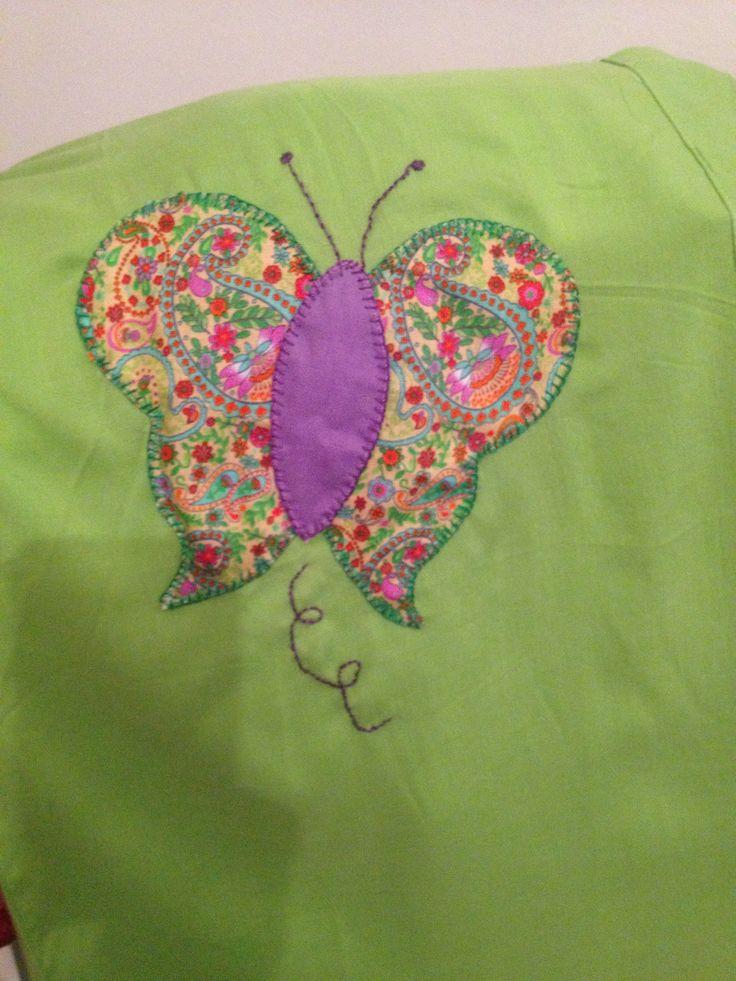 Camiseta password mujer mariposa dibujos con telas - Telas con dibujos infantiles ...