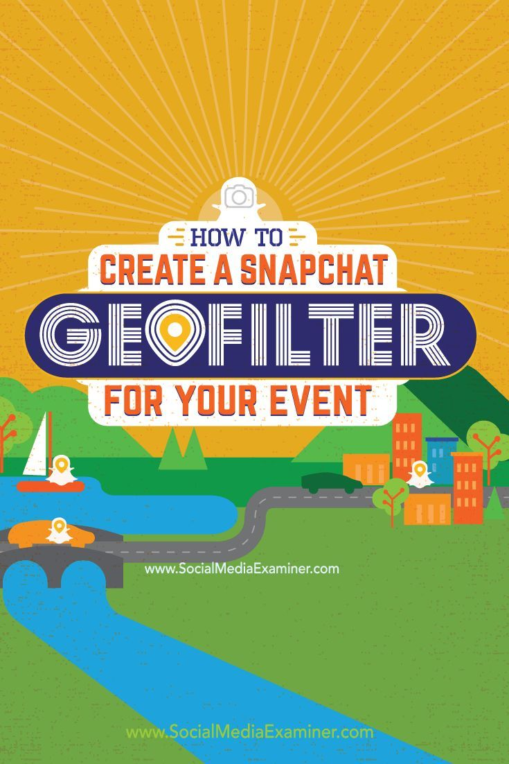 Have you heard of Snapchat geofilters?  Snapchat On-Demand Geofilters let you design custom filters people can use on their snaps based on a custom location you define.  In this article I��ll explain how to create two types of Snapchat On-Demand Geofilters