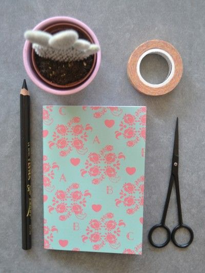 Notebook, A6 -  Prudence, Bloom by @sabinawgustrin