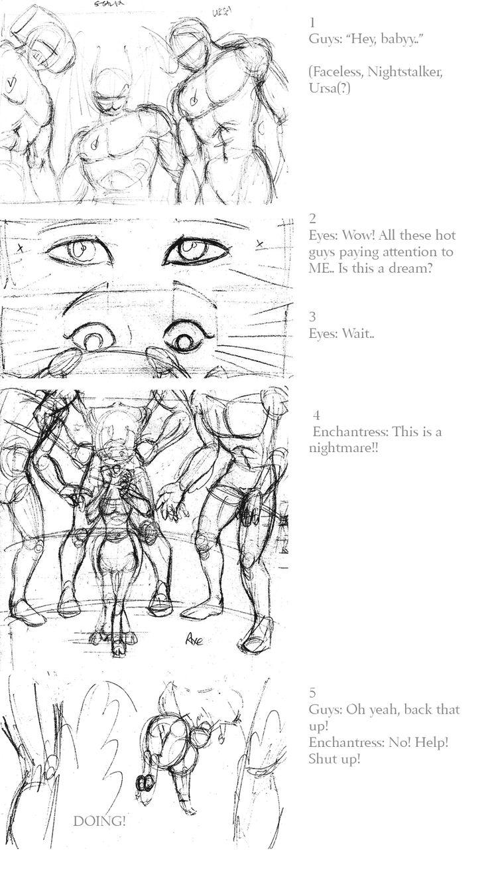 Comic Experiment – DOTA