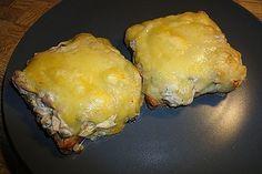 Thunfisch – Schmand – Toasts
