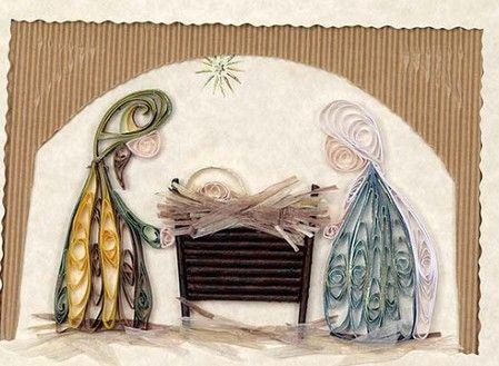 Quilling ~ Narodzenia: