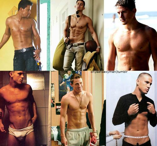 Channing Tatum Shirtless. To my followers, you're welcome.