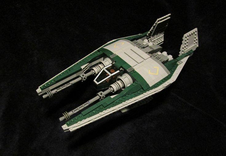 NARN Frazi Class Heavy Fighter (Babylon 5) LEGO Model | by DecoJim
