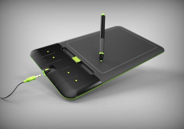 Wacom Bamboo   Tablet of Future competition by Lukáš Matěja, via Behance