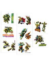 Teenage Mutant Ninja Turtles Tattoos 16ct - Party City $0.99