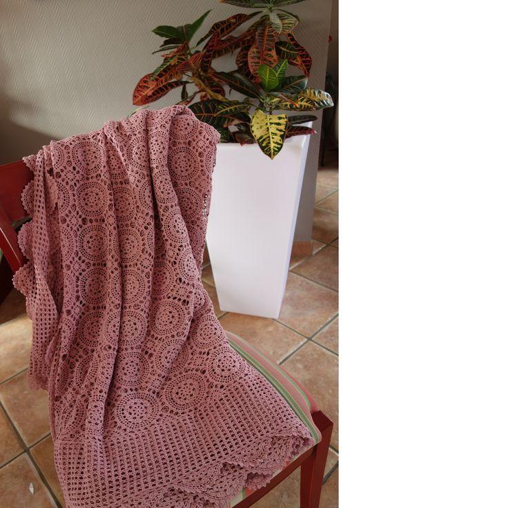 Les 25 meilleures id es de la cat gorie couvre lit rose - Couvre lit rose poudre ...