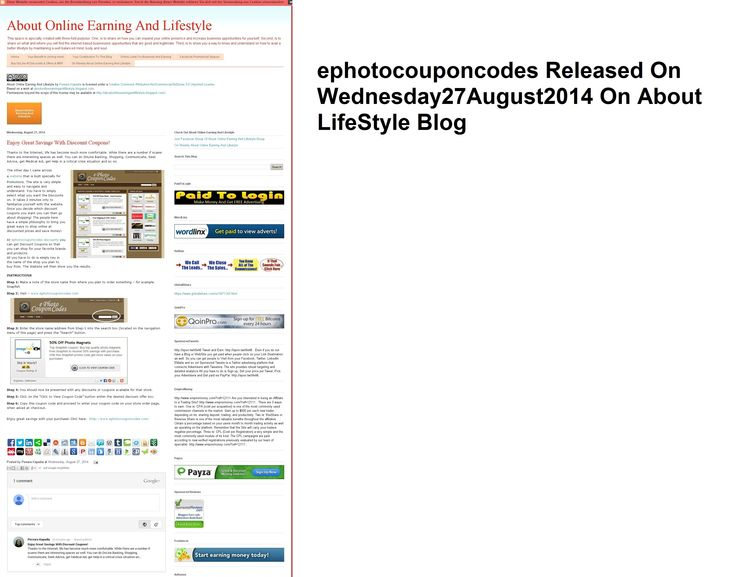 ephotocouponcodes Released On Wednesday27August2014 On About LifeStyle Blog 2 http://aboutonlineearningandlifestyle.blogspot.in/2014/08/enjoy-great-savings-with-discount.html