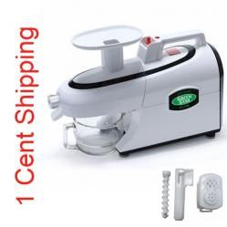 """Check It Out... The Green Star #Juicer Elite GSE-5000. Save $$ with the coupon code """"save"""" when you purchase from VeggieSensations.com. http://www.veggiesensations.com/collections/masticating-gear-auger-juicers/products/green-star-elite-juicer-gse-5000"""