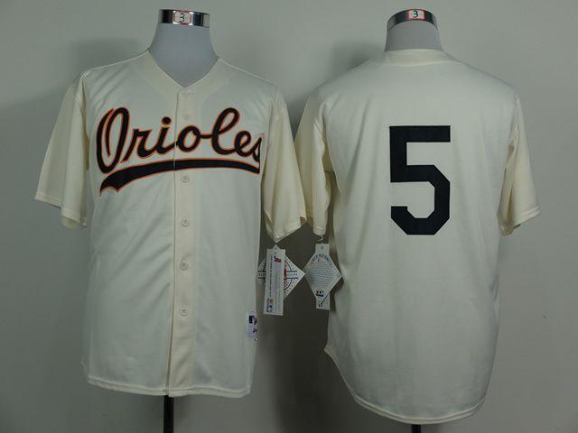 75e8e5bc5be MLB Baltimore Orioles 5 Brobinson Gream 1954 Turn The Clock Jersey
