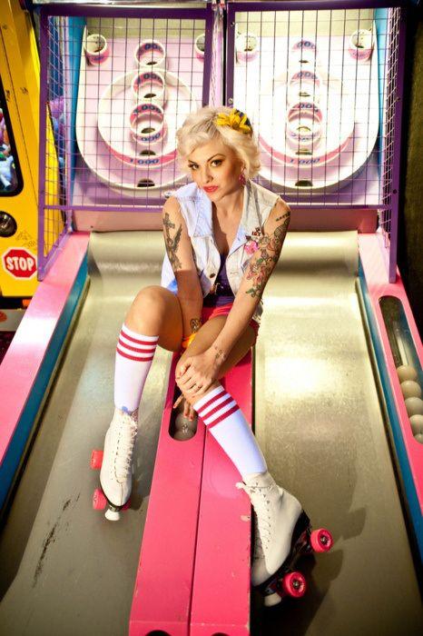 roller girl http://morgatta.wordpress.com/2014/06/19/california-dreamin/