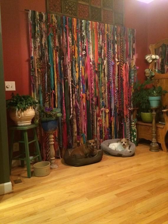 Boho Curtainscustom 80 Inches Wide By 84 Long Etsy Boho