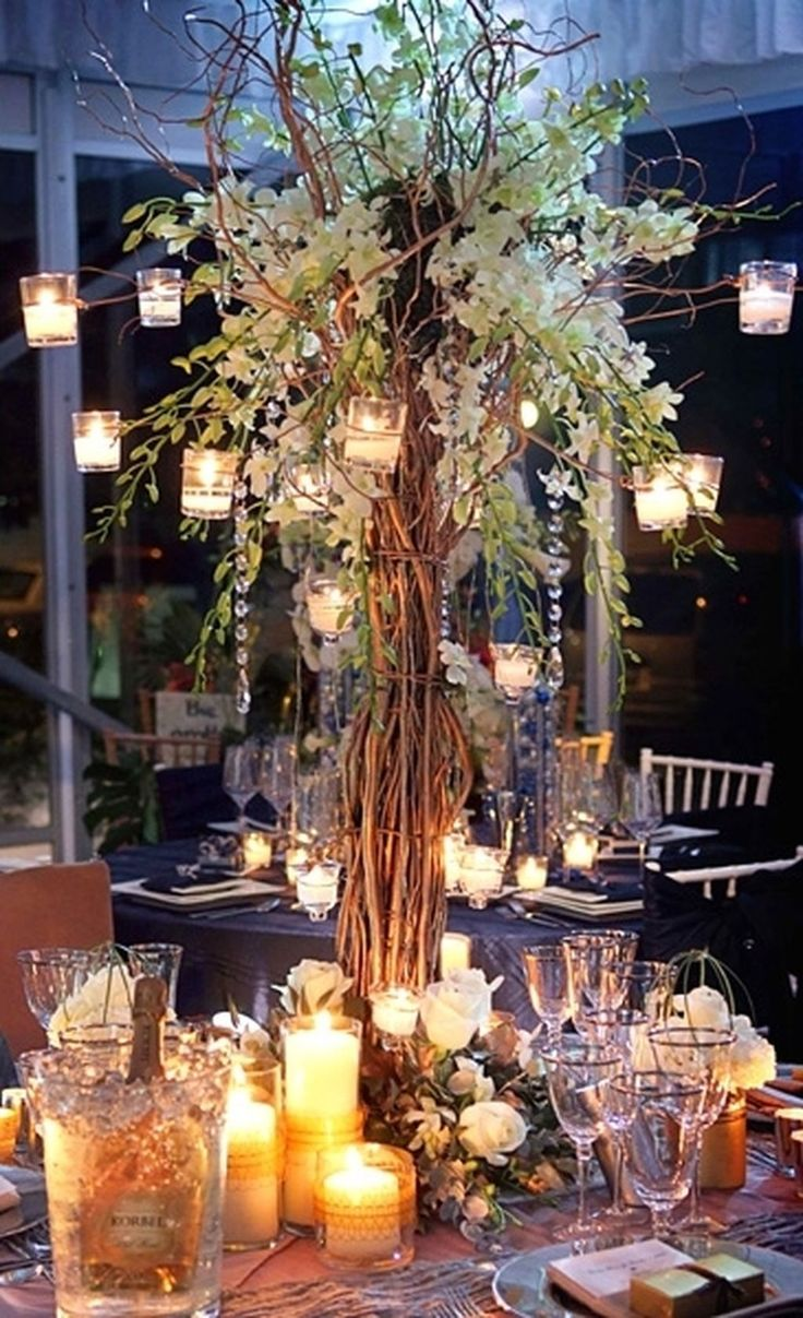 109 Cheap but Elegant Outdoor Wedding Centerpieces Ideas