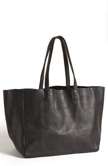 Baggu Leather Tote   Nordstrom