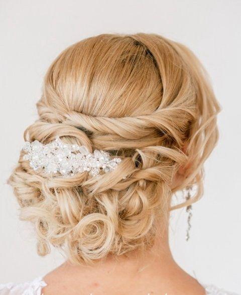 фото свадебных причесок и макияжа | фото прически невесты | фотографии свадебной…