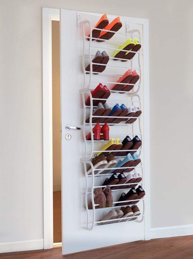 Un Rangement Pour Les Chaussures A Fixer Sur La Porte Avec Images Rangement Chaussures Rangement Cube De Rangement Modulable