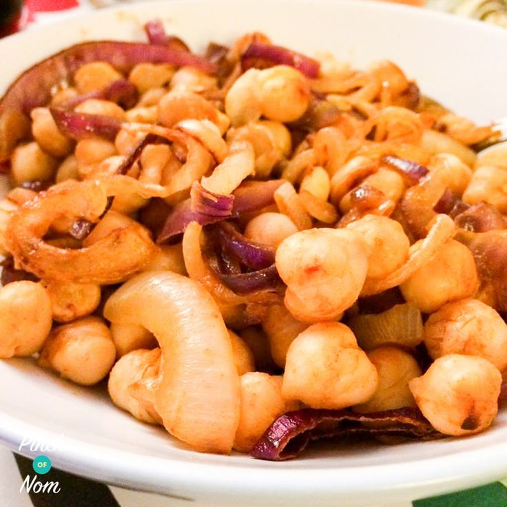 Syn Free Paprika and Chilli Chickpeas | Slimming World