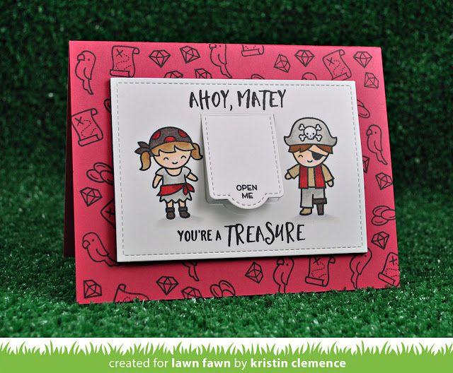 Kristin's Cute Ahoy, Matey Card