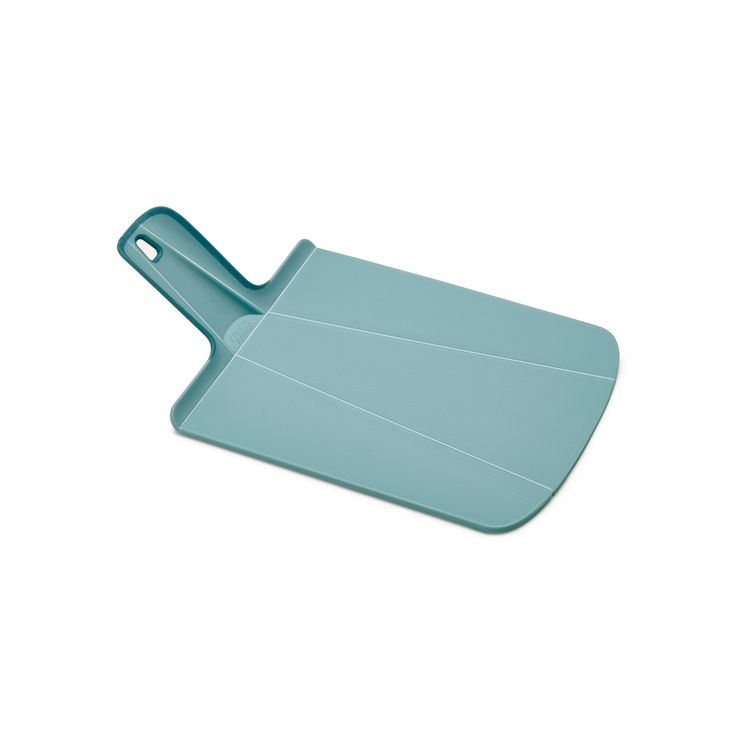 Joseph Joseph Chop2Pot Foldable Plastic Cutting Board & Kitchen Prep Mat, Small, Light Blue