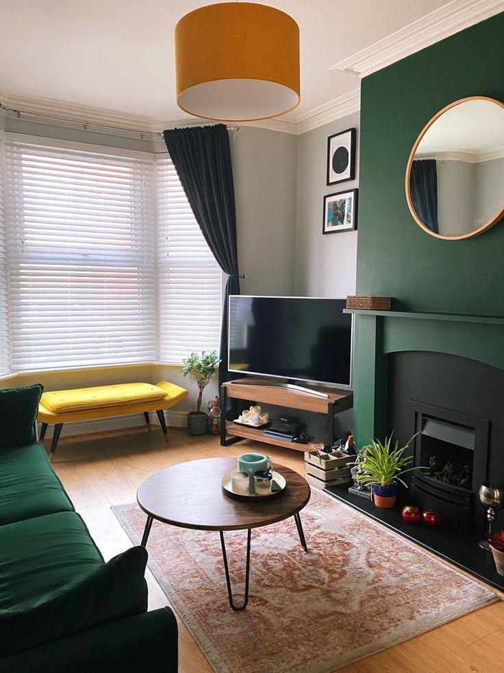 Emerald Green Bedroom Decor Green Living Room Decor Living Room Green Cosy Living Room