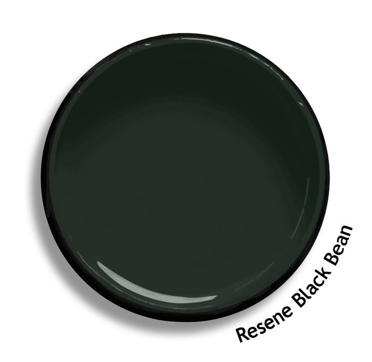 Resene Black Bean is a green blending almost into black, oily and rich. From the Resene BS5252 colours collection. Try a Resene testpot or view a physical sample at your Resene ColorShop or Reseller before making your final colour choice. www.resene.co.nz