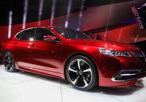 2014 Detroit Auto Show: 2015 Acura TLX is a sleek, efficient TL replacement - NY Daily News
