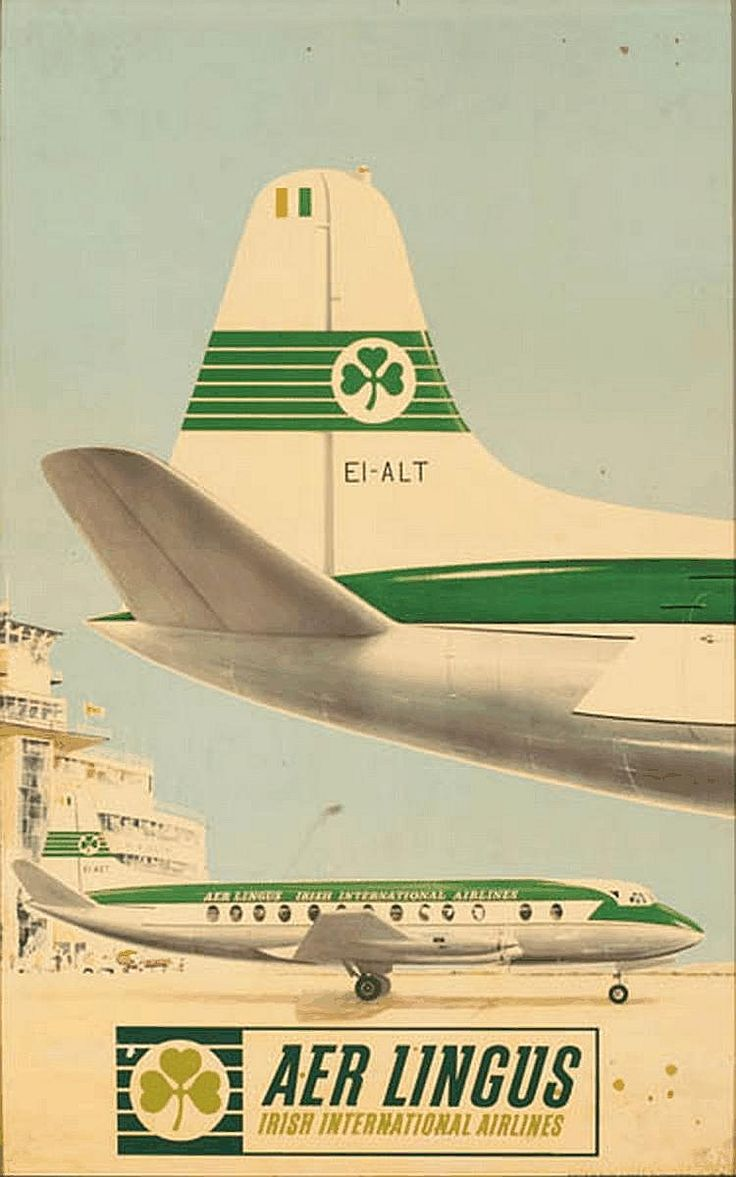 Aer Lingus - Irish International Airlines - 1950's -