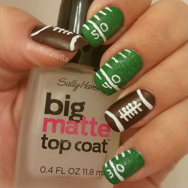Best 25+ Football nail designs ideas on Pinterest ...