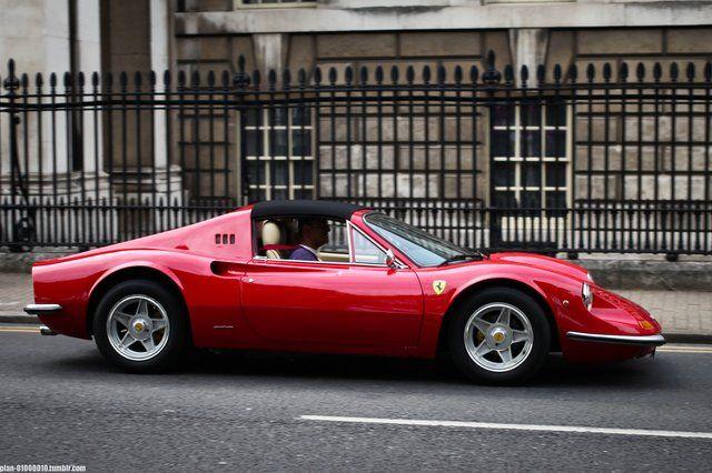 Ferrari Dino #car #ferrari